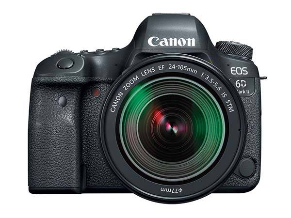 Canon EOS 6D Mark II Full-Frame DSLR Camera