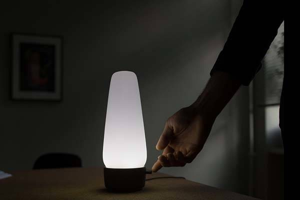 COVI Smart Lamp with Alexa-Enabled Home Hub