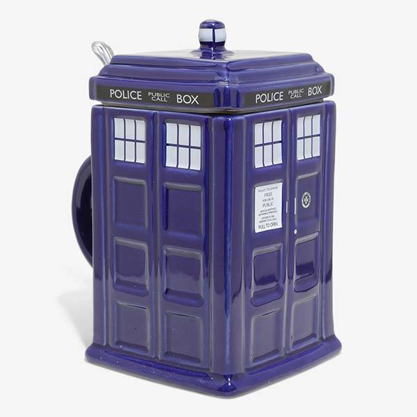 Doctor Who TARDIS Ceramic Stein
