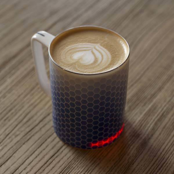 Glowstone Smart Mug with Fine Bone China Body