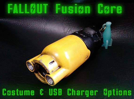 Fallout 4 3D Printed Fusion Core Power Bank