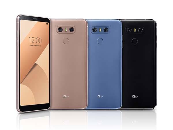 LG G6 Plus Smartphone