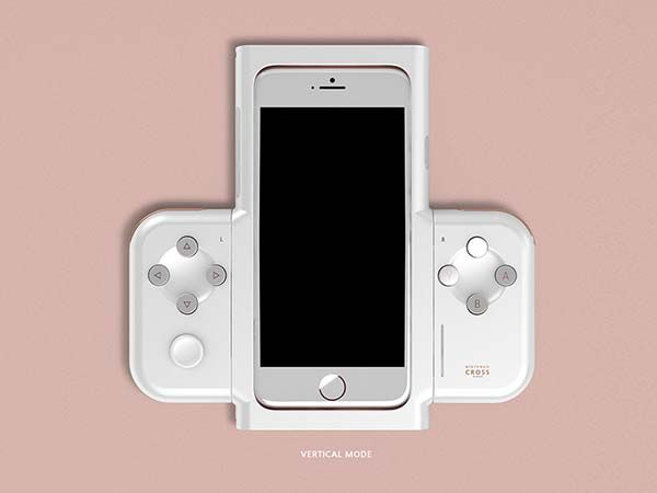 Nintendo Cross Concept iPhone Game Controller