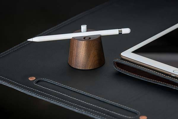 Pad&Quill Wooden Apple Pencil Holder