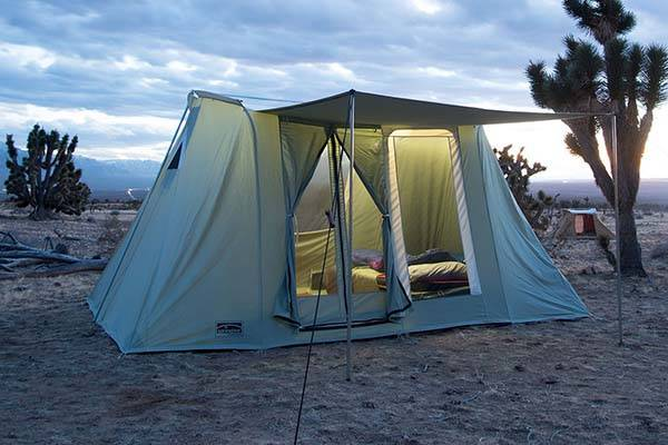 Springbar Highline Canvas Tents