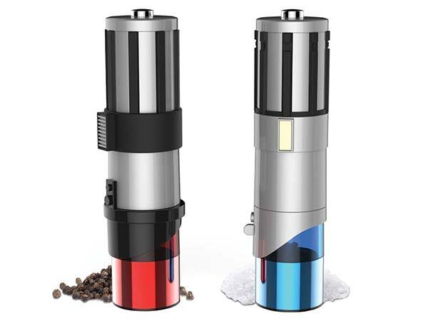 Star Wars Lightsaber Salt and Pepper Grinders