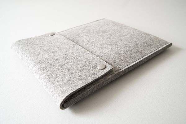 Handmade Felt 10.5-Inch iPad Pro Sleeve
