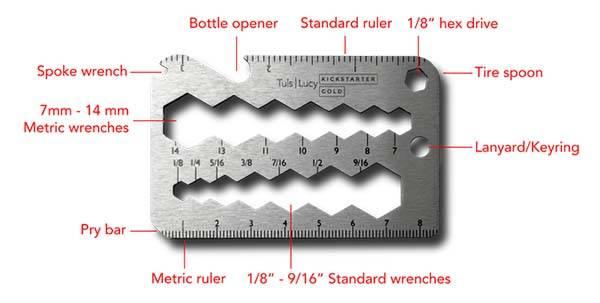 Tul Card-Sized Multi-Tool Series