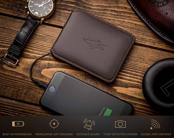 Volterman Leather Smart Wallet