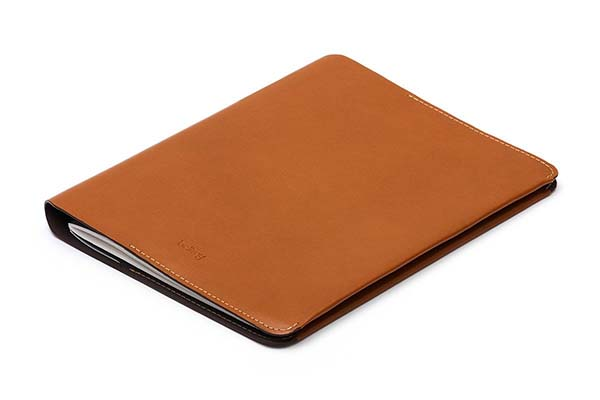 Bellroy Leather Notebook Cover with Built-in Pockets and Pen Holder
