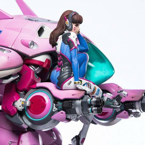 Blizzard Overwatch D Va Statue Brings The Elegant Victory