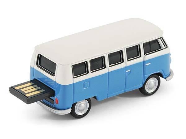 classic volkswagen camper van usb flash drive gadgetsin. Black Bedroom Furniture Sets. Home Design Ideas
