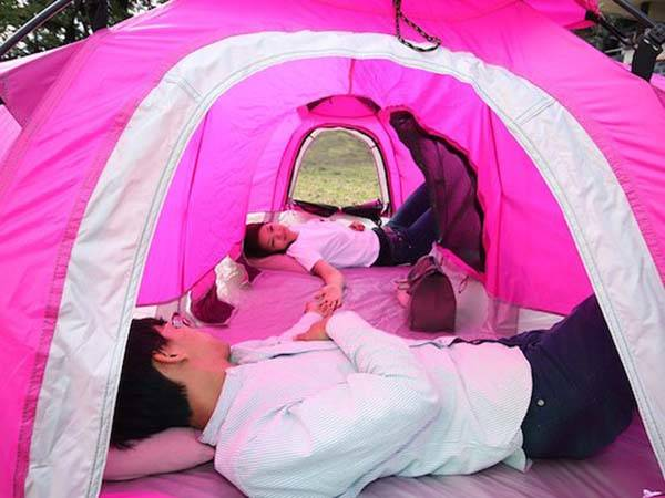 H-Tent 2-Person Tent with Two Individual Living Compartments