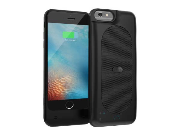 Duo Slim iPhone 7 Battery Case with Built-in Speaker
