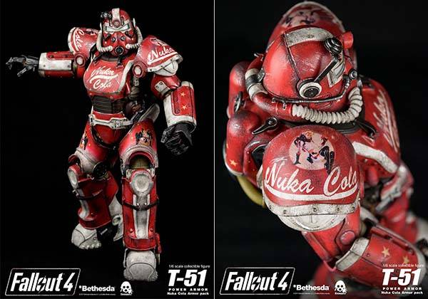 Fallout 4 T-51 Power Armor Nuka Cola Armor Pack