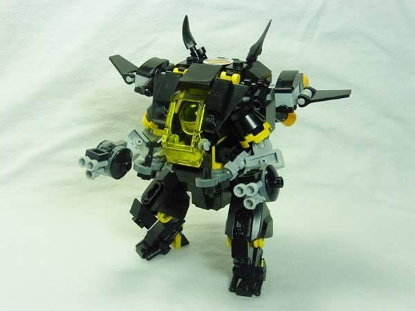 Overwatch LEGO D.Va Mechas