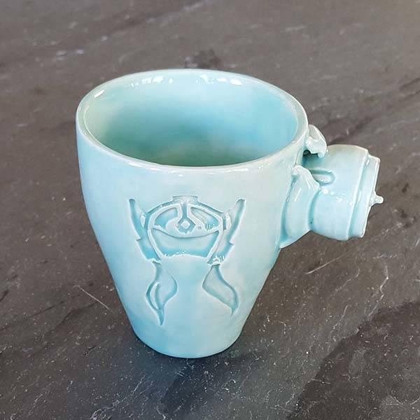 Handmade Overwatch Mugs Inspiredd by Mercy, Reaper and More