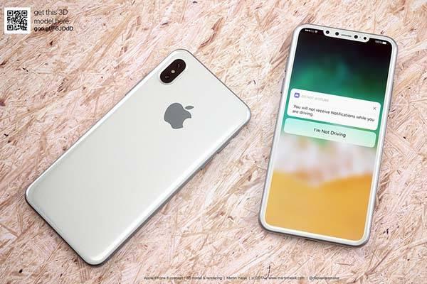 iPhone 8 Renders by Martin Hajek