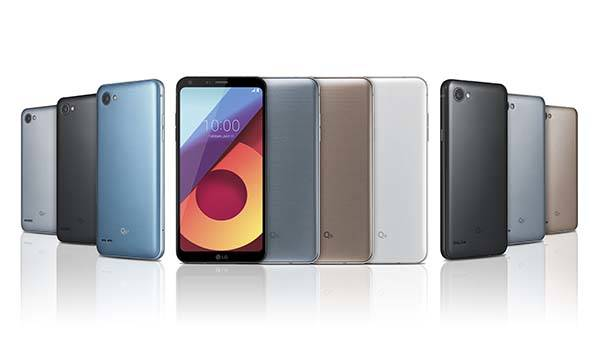 LG Q6 Smartphone Series with FullVision Display