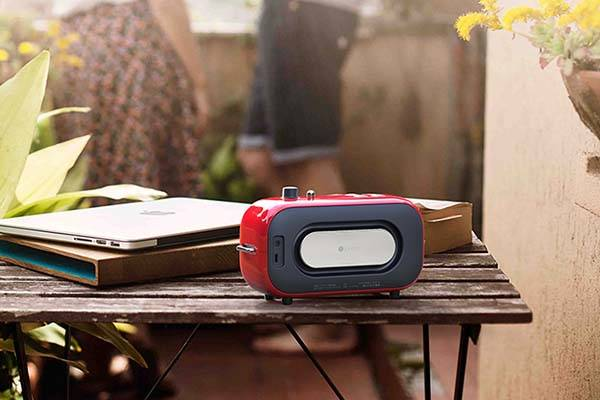 Lofree Poison Vintage Bluetooth Speaker