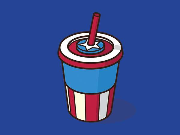 Pop Culture Coffee Mug Mashups - Captain America