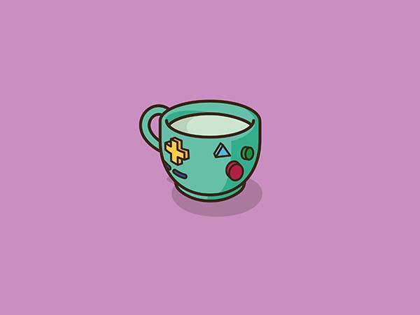 Pop Culture Coffee Mug Mashups - Beemo