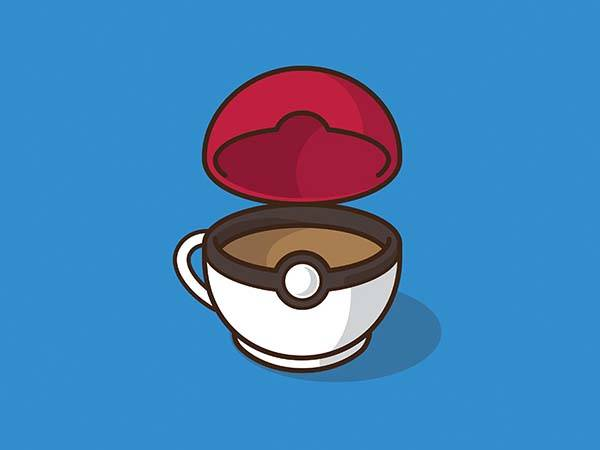 Pop Culture Coffee Mug Mashups - Pokeball