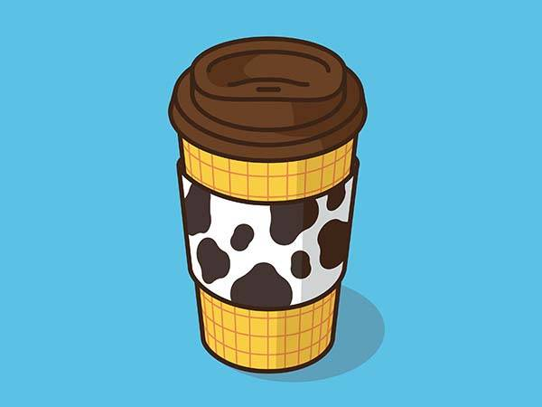 Pop Culture Coffee Mug Mashups - Sheriff Woody