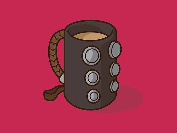 Pop Culture Coffee Mug Mashups - Thor