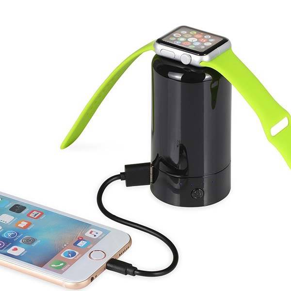 Portable Apple Watch Charger Doubles as Power Bank