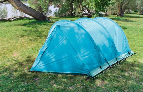 RhinoWolf All-In-One Modular Camping Tent System