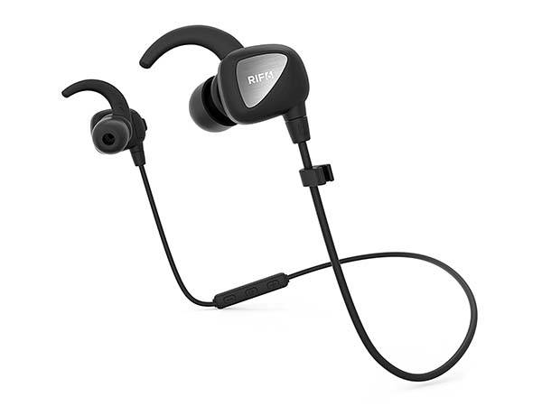 RIF6 Eargo Affordable Sweat Proof Bluetooth Earbuds