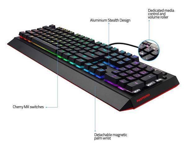 Ghostwriter Prism Mechanical Gaming Keyboard