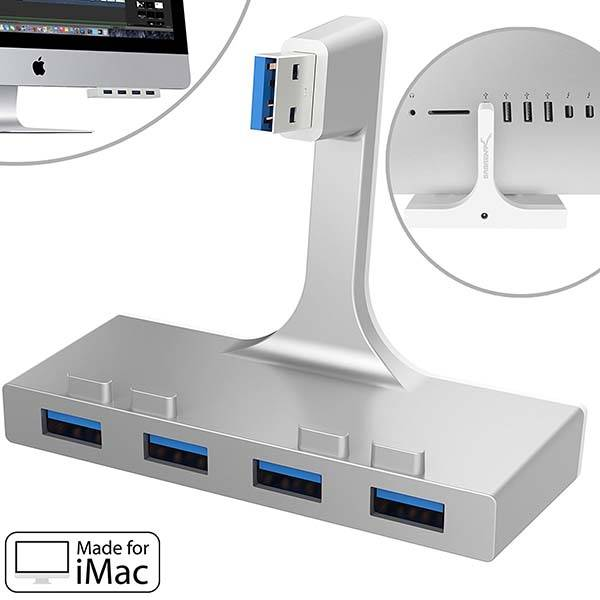 4-Port USB 3.0 Hub for iMac