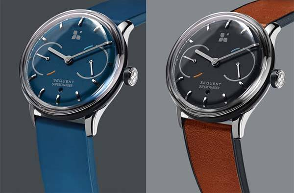 Sequent Kinetic Self-Charging Smartwatch