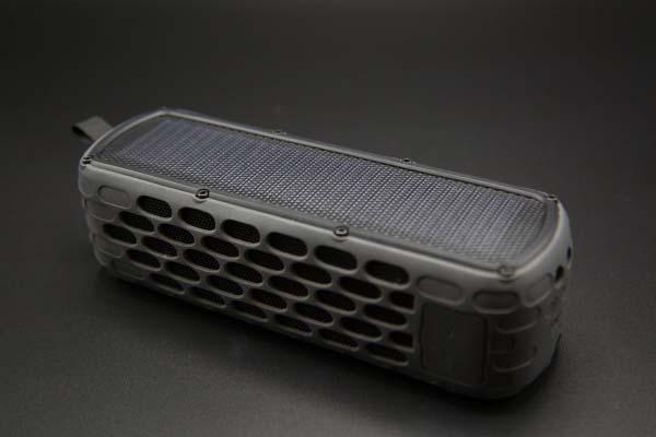 SolarBox Waterproof Solar Powered Bluetooth Speaker