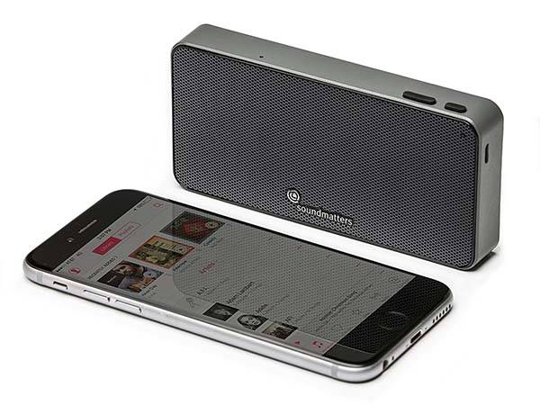 Soundmatters Moment Portable Bluetooth Speaker