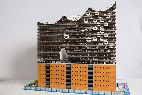 The LEGO Elbphilarmonie Hamburg Concert Hall