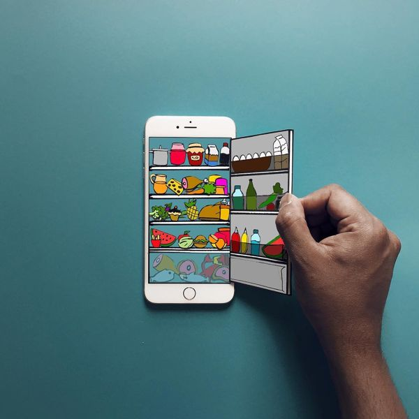 The Creative Mashups Built With Iphone And Paper Crafts