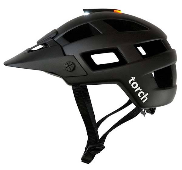 Torch M1 Mountain Bike Helmet with Removable LED Light
