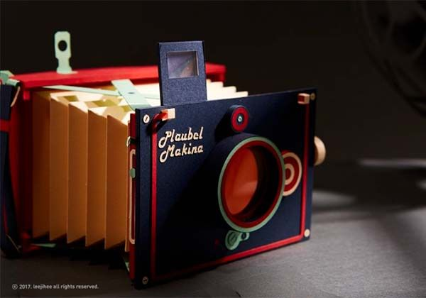 Vintage Camera Papercrafts - Makina