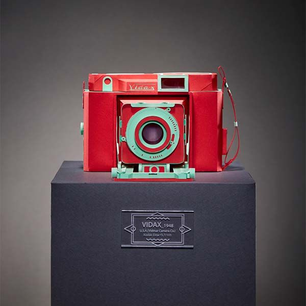 Vintage Camera Papercrafts - Vidax