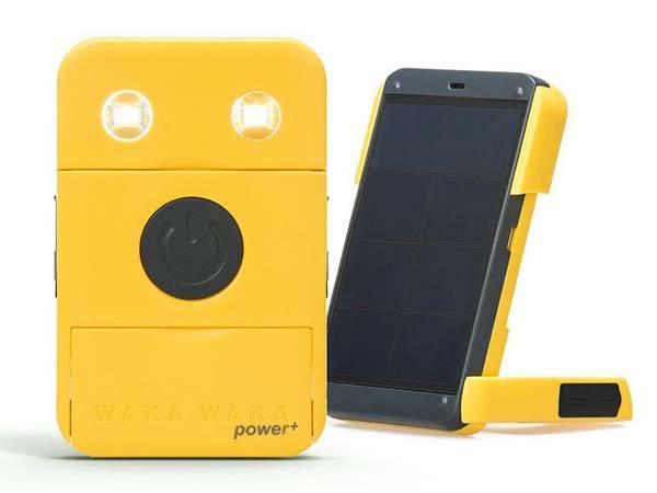 WakaWaka Power Plus Portable Solar Flashlight with Power Bank
