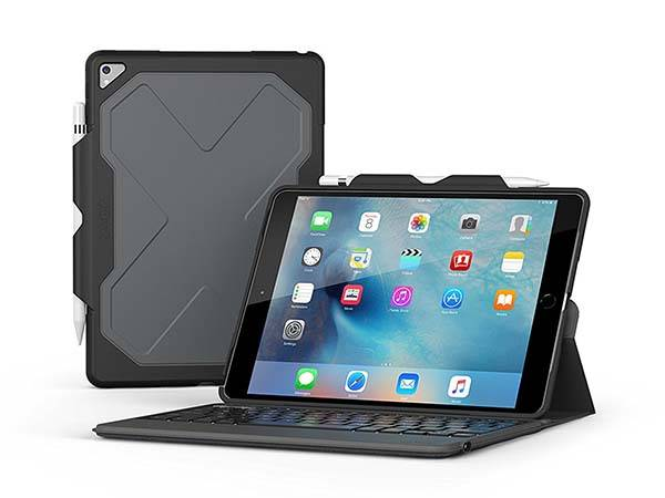ZAGG Rugged Messenger 10.5-Inch iPad Pro Keyboard Case