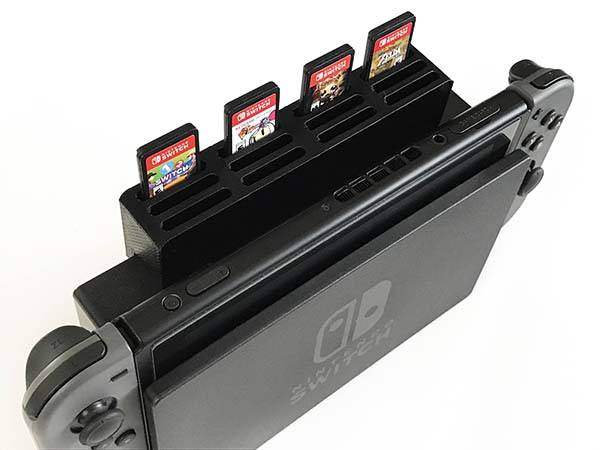3D Printed Nintendo Switch Dock Game Cartridge Holder