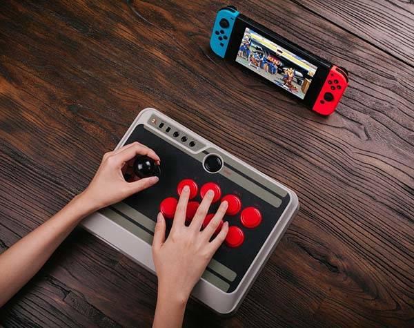 8Bitdo NES30 Bluetooth Arcade Stick