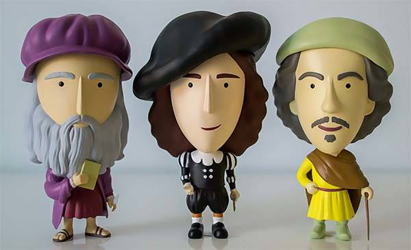 Art History Hero Mini Action Figure Series