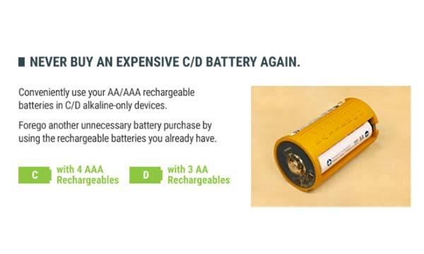 Batteroo ReBoost SmartShell Rechargeable Battery Sleeves