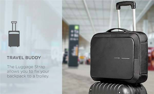 Bobby Bizz Anti-Theft Backpack Acts as Business Briefcase