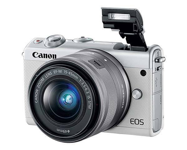 Canon EOS M100 Entry-Level Mirrorless Camera